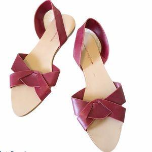 Zara Basic Slingback Flat Sandals 39 EU / 9 US